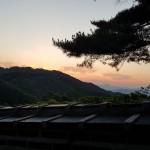 남한산성 석양 인생의 네가지 파도