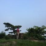 인생의 네가지 파도, 남한산성 무너진 성곽에서